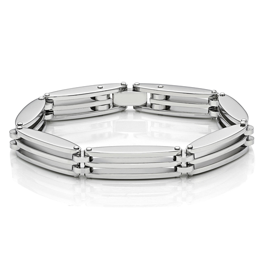 3 Layers Steel Bracelet