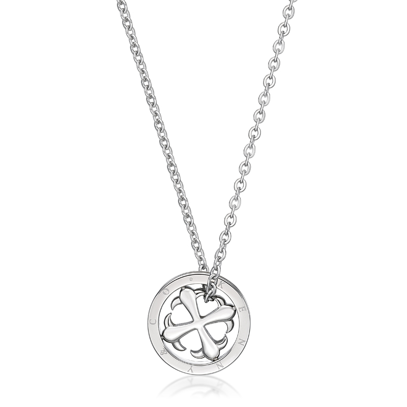 Cross in Circle Pendent