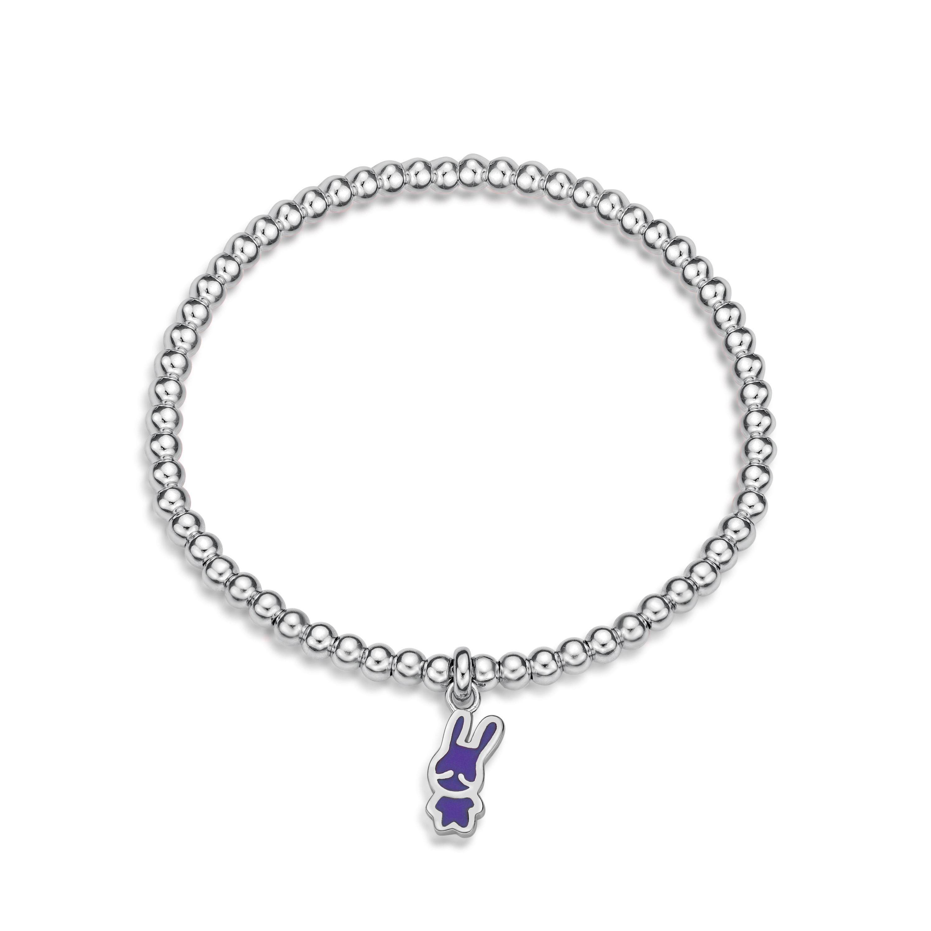 Rabbit C Icon Ball Bracelet