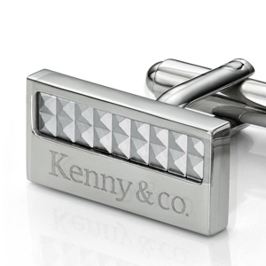 Kenny & co. Pyramid Cufflinks